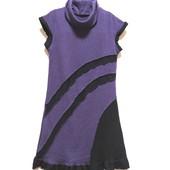 =Яркое теплое платье с высоким воротом Франция, акрил уп-10%