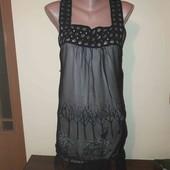 Плаття з красивим декором, розмір S/M.