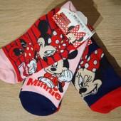 Disney набор 3 пары носочков для девочки размер 31/34