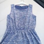 Стоп!!фирменное красивое яркое удобное натуральное платье