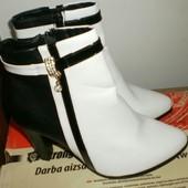 Демисезонные ботинки, р 39 - 24.5 см
