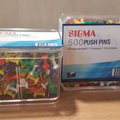 Кнопка-гвоздик,500 шт.Sigma