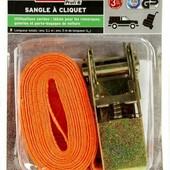 Стяжной ремень 5м с трещеткой.Германия. Трос, верёвка, шнур, шпагат.