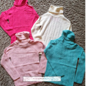 Новинка! Теплый гольф-свитер для девочек и подростков champion 152-164. ОТличного качества.