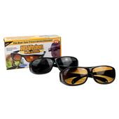 Антибликовые очки для водителей HD Vision Wrap Arounds, 2 шт. (для дня и ночи)