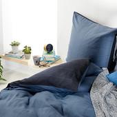 ☘ Якісний фланелевий комплект: підодіяльник + наволочка, Tchibo (Німеччина), полуторний розмір
