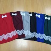Красивое платье-сарафан со складкой К1 для девочки! Читайте описание! Цвет и размер на выбор!