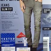 """Стильные модные мужские джинсы """"slim fit"""" Livergy Германия размер 48 (32/34)"""