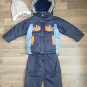 Зимний комплект для мальчика 4-5 лет