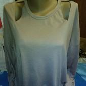 Блузка пыльнорозового цвета на 48-50(укр.)