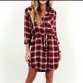 Стильное платье/рубашка /туника √√ 158/164 см Yigga √√ 100% х/б без нюансов.