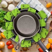 Многоразовые разделители для посуды, сковородок и т.д. Набор 6 шт