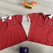 2 футболки Поло мальчику размер 3 года