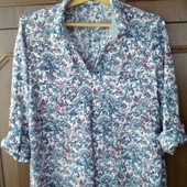 Стильная натуральная рубашка блузка