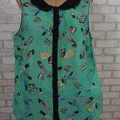 Блуза мята 50-52