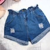Качество! Стильные джинсовые шорты в новом состоянии