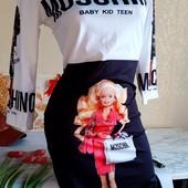 Шикарное платье Барби дефект