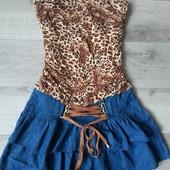 Стильное джинсовое платье Blind Date! Германия! S