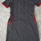 платье в горошек 48-50 размер