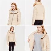 ❤️Colin's Вьетнам❤️фирменная стеганая стильная теплая куртка высокий ворот,актуальный кремовый цветМ