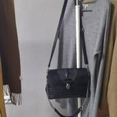 Натуральная кожаная сумка небольшого размера