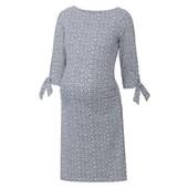 Плотное трикотажное платье для беременных esmara р.M