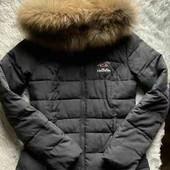 Куртка с капюшоном со съёмным мехом от американского бренда Holyster