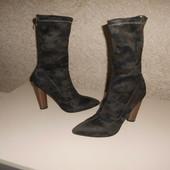 камуфляжные стрейч ботинки