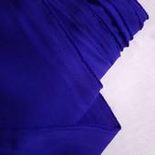 Габардин синий электрик, ширина 1,5м, Цена за 0,5м, можно докупить по ставке