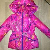 Курточка на девочку 3 лет