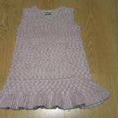 Вязаное платье-туника Next состояние отличное