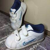 14см. Белые кеды, кросовки Nike.