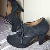 24 см. кожа, замш. ботильоны, туфли.