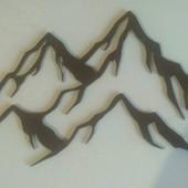 Картина Гірська тематика розмір 550 см