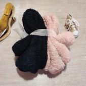 Германия!!! Лот из 2 плюшевых женских носочков! 35-38 размер!