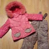 Зимний костюм  на 1.5 - 3 года