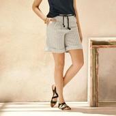 Стильные льняные шорты Esmara Германия размер евро 36