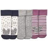 ☘ 3 пари дитячих махрових шкарпеток в наборі від Topomini (Німеччина), розмір 86/92