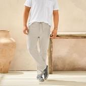 Отличные мужские льняные брюки Livergy Германия размер 62