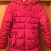 Куртка, холодная, внутри флис, размер 7-8 лет 128 см, Dopo Dopo. состояние хорошее