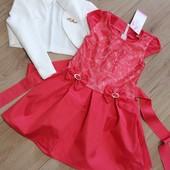 Нарядный комплект, платье с болеро