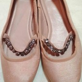 нежные балетки
