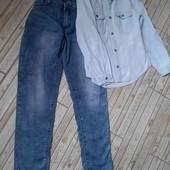 Весняний джинсовий комплект для модниці