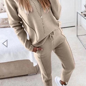 Женский костюм Prada рр42.44.50 Светло беж
