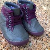 Ботинки натуральная кожа от Lupilu 19 разм