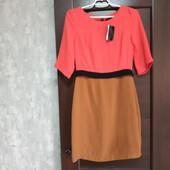 Фирменное новое красивое платье р.10-12