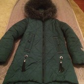 Дитяча курточка весна-зима в хорошому на 7-9 років