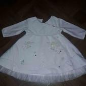 велюровые платье на девочку George