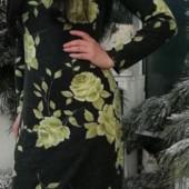 Прекрасное тёплое платье м л