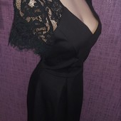 Шикарное чёрное платье Dorothy Perkins р.Uk10 Сток